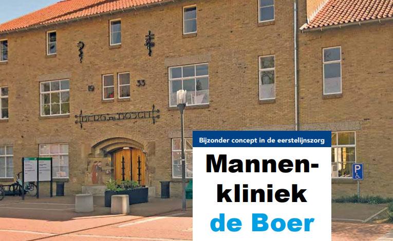 Mannenklinkiek De Boer