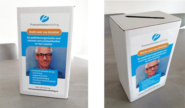 Donatiebox Prostaatkankerstichting